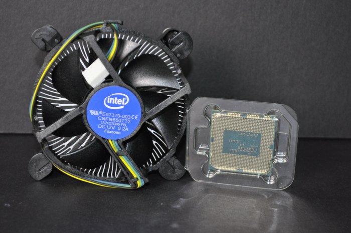 Pentium G4600雙核四線盒裝正式版附全新風扇(1151 3.6G)保至109.9 非G4520 G4560