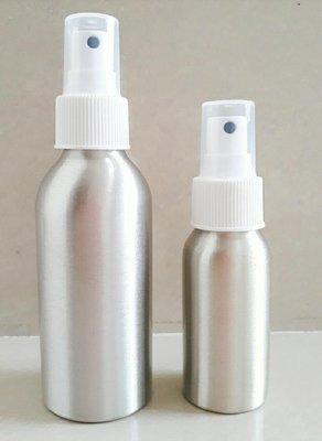 現貨 50ml 鋁罐噴霧瓶 鋁瓶 酒精噴瓶 噴霧 分裝瓶