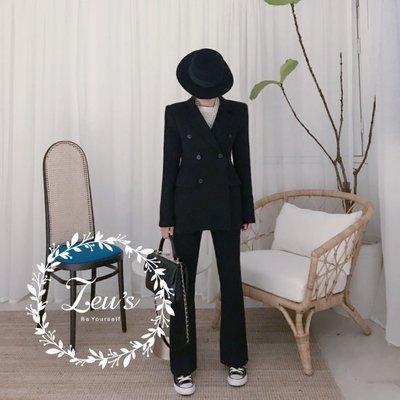 【ZEU'S】韓國休閒新款顯瘦喇叭褲西裝『 02119705 』【現+預】B