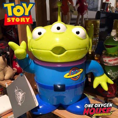 限定 玩具總動員 三眼怪 存錢筒 糖果罐 收納盒 玩具 公仔 糖果