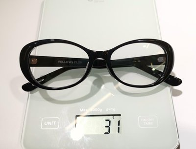 #YELLOWS_PLUS #CYNDY  #53口17 #黑色框 #手工眼鏡 #板料#日本製造