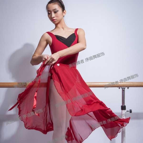 5Cgo【鴿樓】會員有優惠  19389792461 舞蹈 成人芭蕾舞練功服連體服 坎袖 舞蹈服 芭蕾舞服 舍賓服 芭蕾