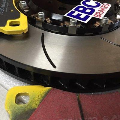 泰山美研社 Y3369 PORSCHE 保時捷 MACAN S 前煞車 卡鉗 碟盤 升級套件