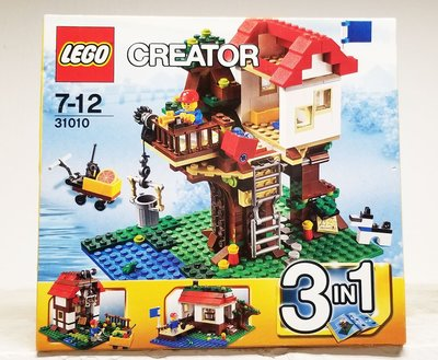 全新未開 Lego 31010 Creator Tree House 樹屋 3 in 1 系列