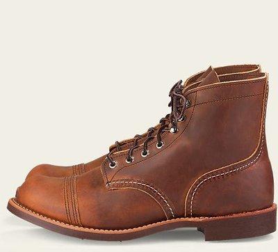 【紐約范特西】極少量現貨 RED WING IRON RANGE Boots 8085 棕色 皮革 工作靴