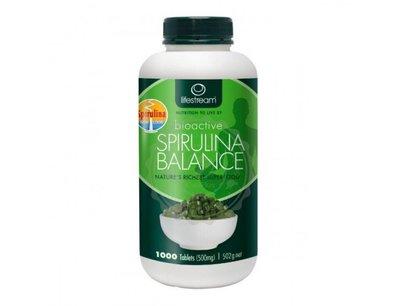 紐西蘭 生命泉 螺旋藻 1000錠 500mg Lifestream Spirulina 正品 紐西蘭直送 疫情限時優惠