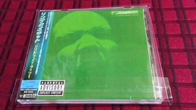 R西洋男(二手CD)Limpbizkit- Results May Vary ~林普巴茲提特~小心副作用~日版~有側標