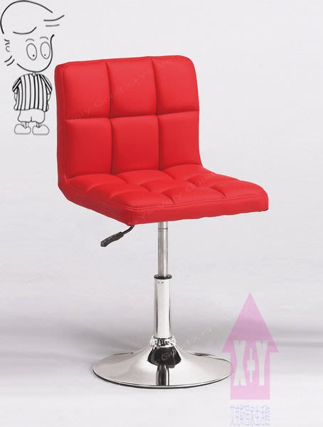 【X+Y時尚精品傢俱】現代吧檯椅系列-艾薇 吧台椅(紅皮).坐墊PU環保皮.摩登家具
