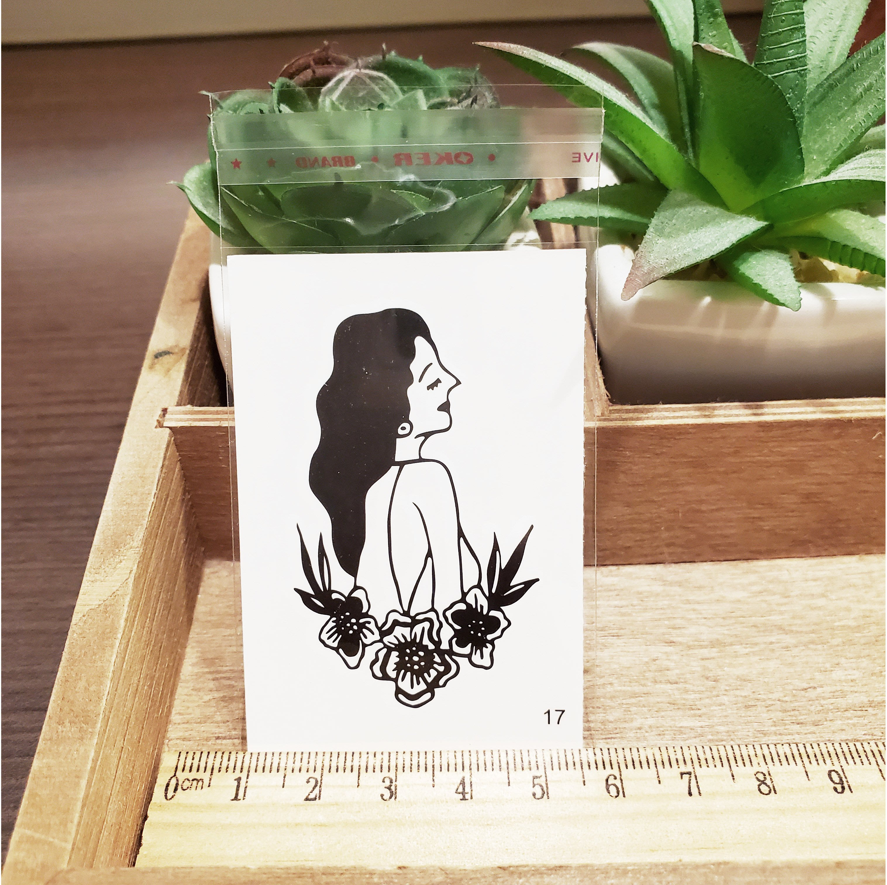 【萌古屋】百態人17單圖 - 男女防水紋身貼紙刺青貼紙 K43