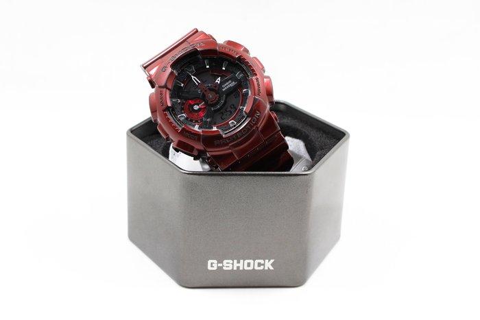 【高雄青蘋果3C】G-SHOCK 炫光金屬迷幻腕錶 GA-110NM-4A 二手手錶#15082