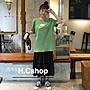 [H.C.shop] Nike 海洋綠 落肩長版短袖T恤 男...