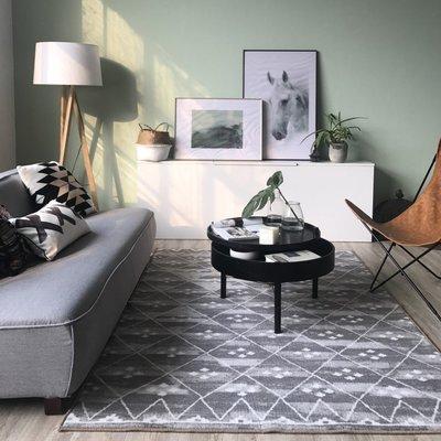 【Uluru】Grayism2 140x200 條毯 地毯 長毛 短毛 客廳 臥室 Loft 北歐 工業 風 地墊