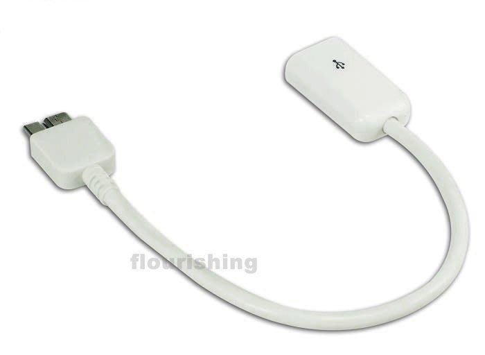 Samsung Note 3 N9000/N9005 OTG 資料連接線/USB OTG Host/USB連接器