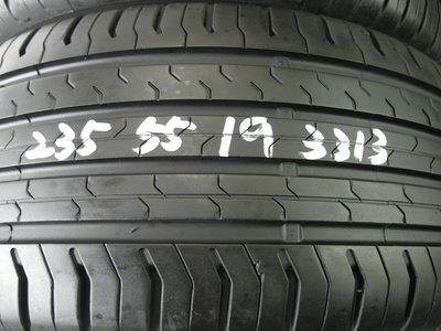 【宏勝輪胎】中古胎 落地胎 維修 保養 底盤 型號:235 55 19 馬牌CEC5 4條 9成新