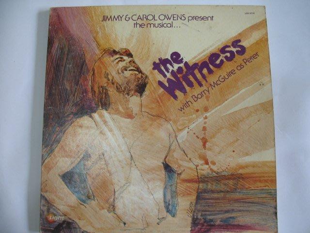 the Witness - 1978年 進口 雙黑膠唱片版 - 501元起標