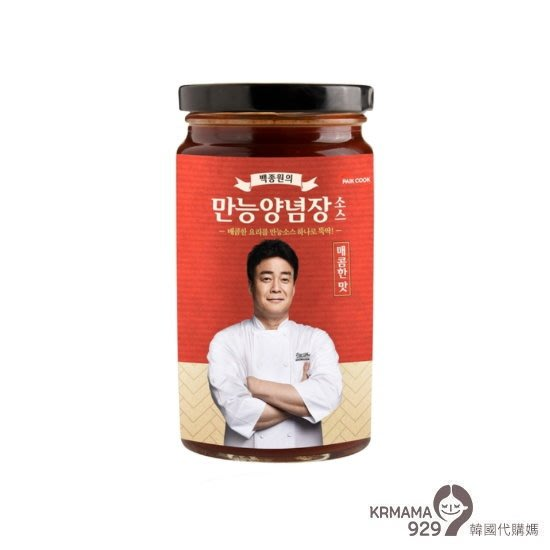 KRmama929~【預購】韓國 白鍾元萬能醬 370g