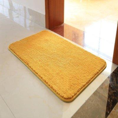 丸子雜貨鋪 全店折扣金黃色衛生間地墊入戶門腳墊門墊進門門廳衛浴吸水防滑墊臥室地毯