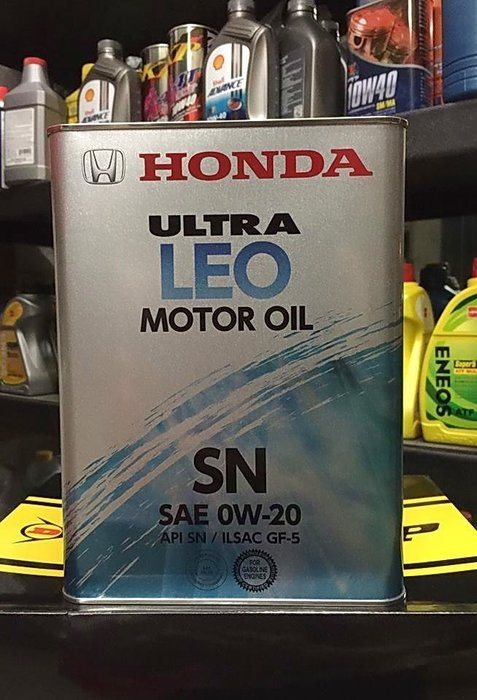來店說1000元  【油品味】日本原裝 本田 HONDA  0W20 SN GF-5 4L