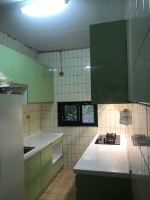 【雅格廚櫃】工廠直營~一字型廚櫃、流理台、廚具、結晶鋼烤、含櫻花三機.