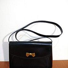 早期摩登時代 美好時光 vintage 法國製 Nina Ricci 真皮 古著 側背包
