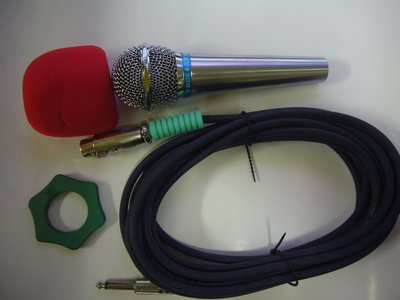 TEV-台灣電音製~卡啦OK專業用有線麥克風組