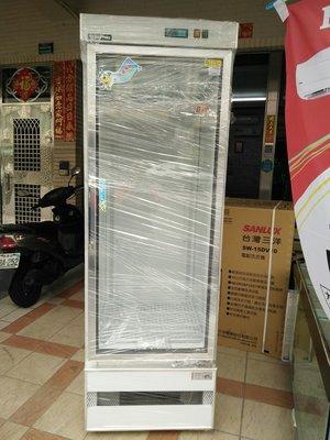 高雄 二手 極新 500L單門玻璃展示櫃冰箱 只賣11000