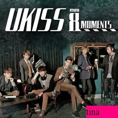 U-KISS韓國原版第八張迷你專輯U-Kiss Mini Album Vol. 8 - Moments全新未拆下標即售
