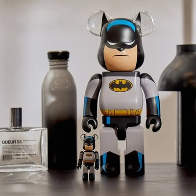 BEETLE BE@RBRICK 蝙蝠俠 BATMAN BEARBRICK  ANIMATED 100% 400%