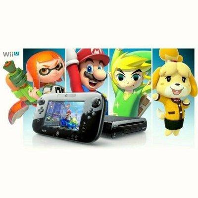 (Switch入手前必備一台)任天堂 Wii U日版原廠主機+GAMEPad+支援wii遊戲(CP值超高/無盒裝)