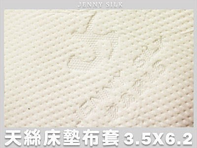【Jenny Silk名床】JS 100%天絲緹花.乳膠/記憶/杜邦床墊專用布套.加大單人.全程臺灣製造