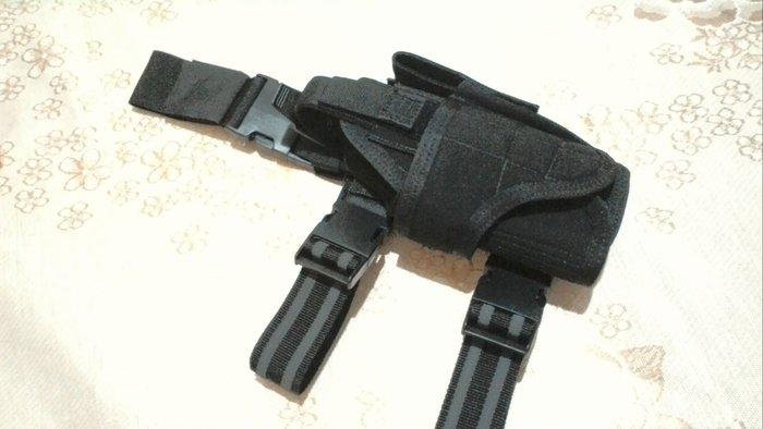 J-TECH 黑色槍套 手槍套 腿掛款 右手