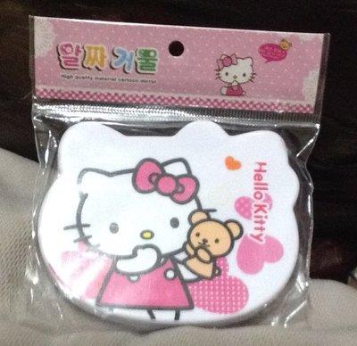 全新韓國帶回Hello kitty鏡梳組《造形》攜帶方便!