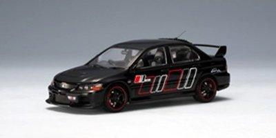 AUTOart廠牌 1:43 MITSUBISHI LANCER EVO IX RALLIART (黑色) #57192