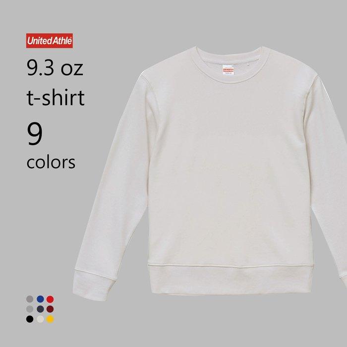 WaShiDa【UA5392】United Athle ×9.3磅 圓領 長袖 運動衫