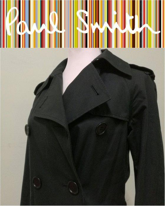 【皮老闆】二手真品 英倫精品 Paul Smith Black label 風衣 大衣