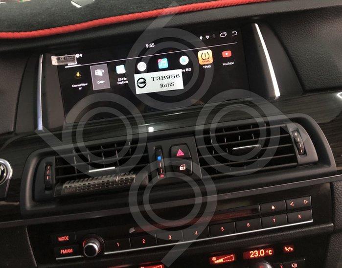 BMW 528 F10-10.25吋安卓專用機+後座雙獨立安卓螢幕.九九汽車音響(台中市-五權店).公司貨保固一年