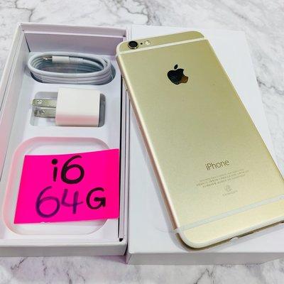 女用機💋💋二手保存好iPhone-i6-64GB金色手機💋