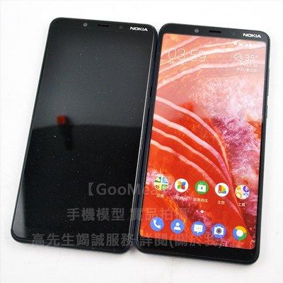 【GooMea】原裝 黑屏 諾基亞Nokia 3.1 Plus 6吋模型展示樣品包膜dummy摔機整人假機交差1:1