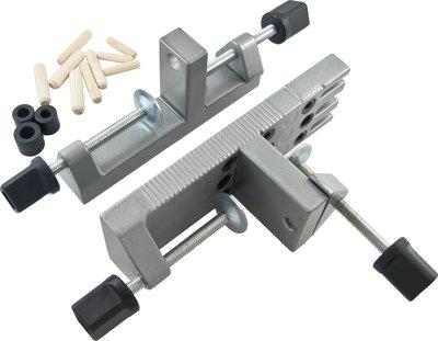 [現貨] 德國 Wolfcraft 木榫打孔定位器[專家級],絕對精準/木作/量產系列狼工 6/8/10mm TL MS
