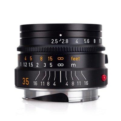 【日光徠卡】現貨優惠實施中 Leica 11643 SUMMARIT-M 35 mm f/2.5 黑 全新公司貨
