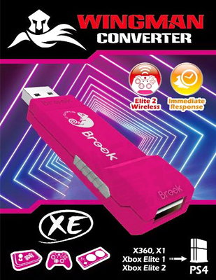 (超取免運費)XBOX360 ONE 菁英無線控制器 轉接 PS4 PC BROOK 超級轉接器 WINGMAN XE