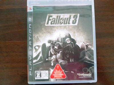 PS3 異塵餘生3 FALLOUT 3 純日版