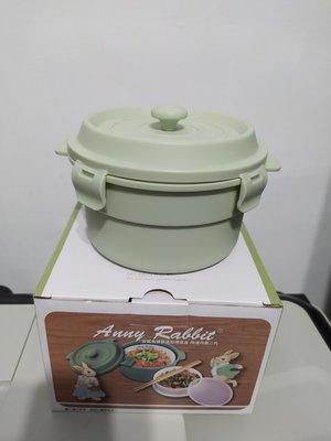 安妮兔鑄鐵造型便當盒 陶瓷內膽二代 日月光股東會紀念品