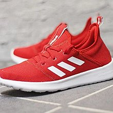 D-BOX  ADIDAS CLOUDFOAM PURE NEO 輕量 運動 慢跑鞋 大紅色