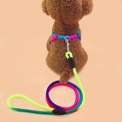 狗?子小狗狗牽引繩泰迪中小型犬幼犬胸背帶遛狗繩貓繩子寵物用品