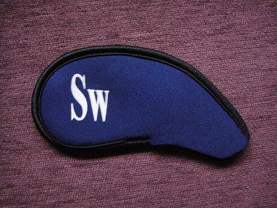 ~海賊王GOLF~ 二手球桿 全新品 SPLENDOR IRON COVER 1入 淺水布材質 深藍色鐵桿帽套 高爾夫球