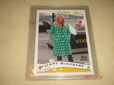 美國職籃 NBA Actress Jenny McCarthy 2005 Topps #253 球員卡 新人卡
