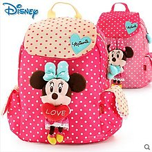 女童書包幼兒園中大班壹年級迪士尼可愛小孩寶寶雙肩背包兒童書包