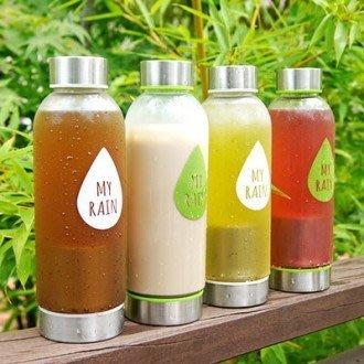 TOUCH-KR 韓國 304 不鏽鋼篩網水瓶 BPA FREE 隨行杯 檸檬杯 環保隨身瓶 水壺 飲料杯│z7553
