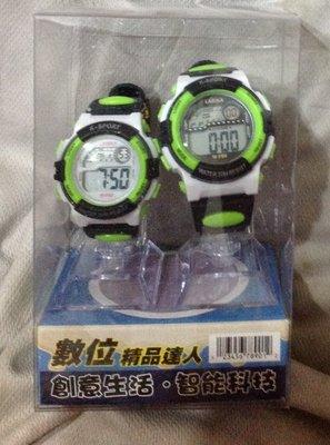 全新LASIKA兒童手錶女孩小學生女童可愛公主男孩數字式防水夜光電子錶 至簡元素對標適合送禮